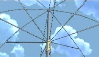 空模様の傘