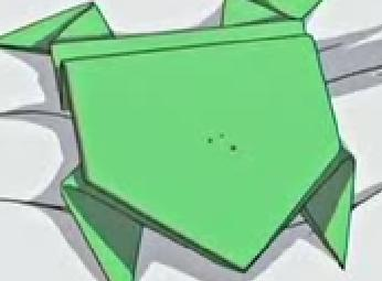 かえるの折り紙