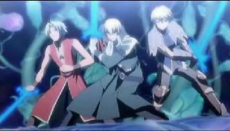 心剣士3人