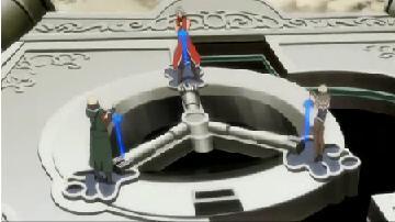 3つの鍵穴