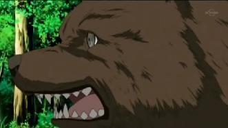 梅梅 熊の着ぐるみ