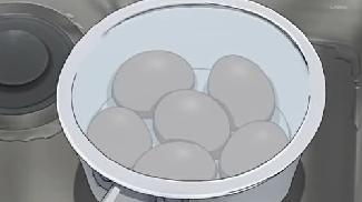 ゆで卵6個