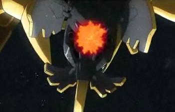 金色 尻尾ビーム
