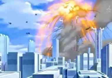 バベルタワー爆破