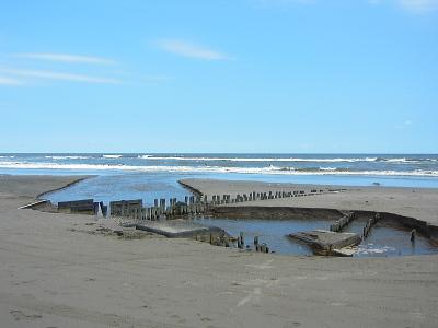 九十九里浜と太平洋