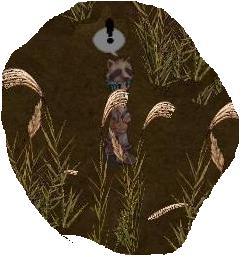 すすき野のたぬき