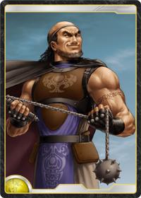 太陽王国の上級神官戦士