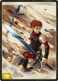 太陽王国の上級剣士