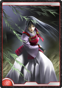 東方の居合い剣士