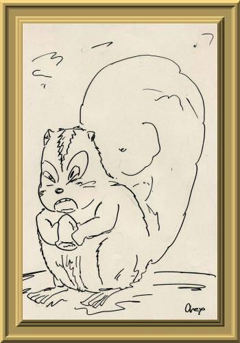 リス/栗鼠/りす