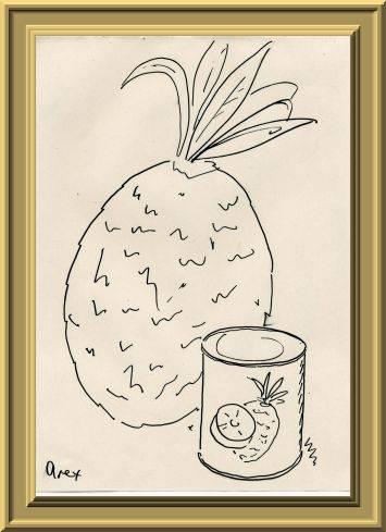 パイナップル缶詰