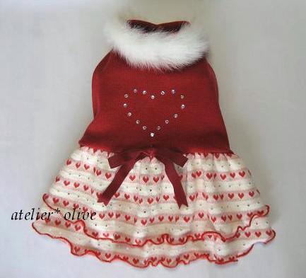 クリスマスなお洋服