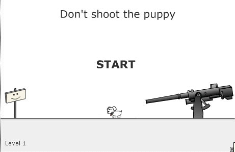 Dont shoot the puppy