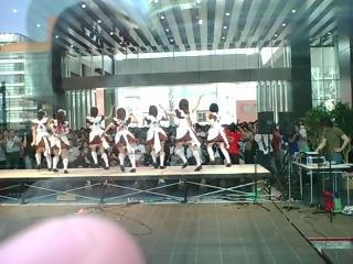 完全メイド宣言ライブ、後ろから撮影