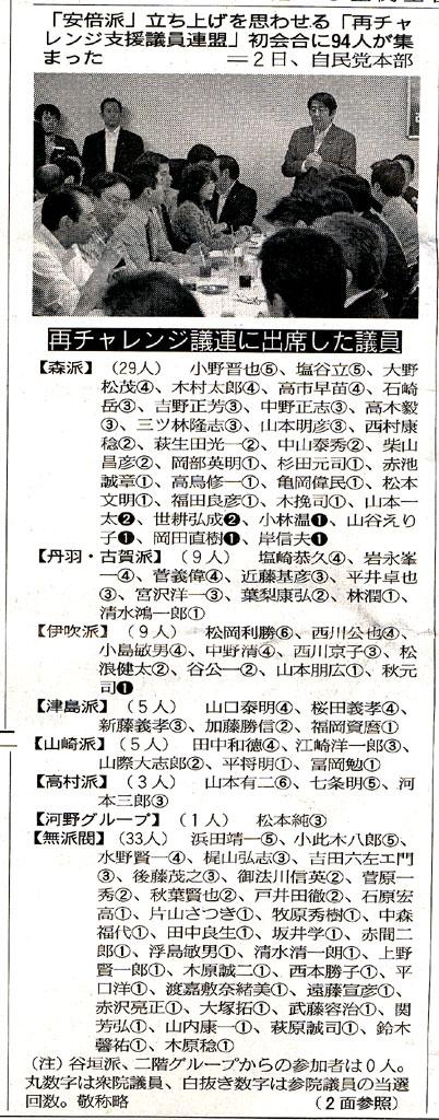 産経大阪版(6/3)朝刊より