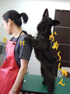 2008.03.16  ヴィクターくんとママ①