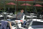 館内レストラン「カフェ・レストラン・リス」テラスにて