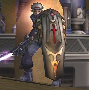 逸脱なしでこの盾を装備したい。