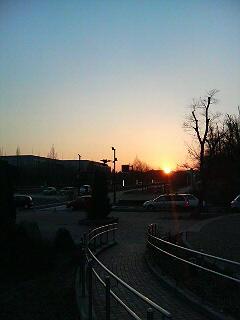 夕日が沈むとき~