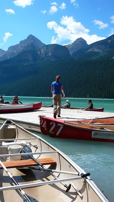 ボートもできます