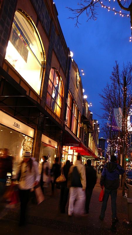 Robson St.のクリスマス