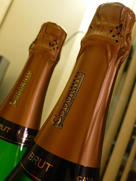 シャンペンボトル