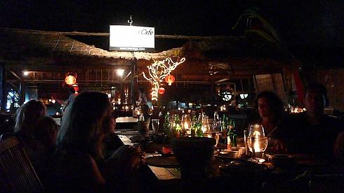 ジンバランのシーフードレストラン