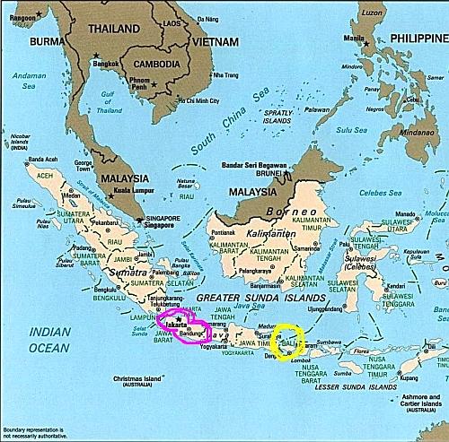 インドネシアマップ