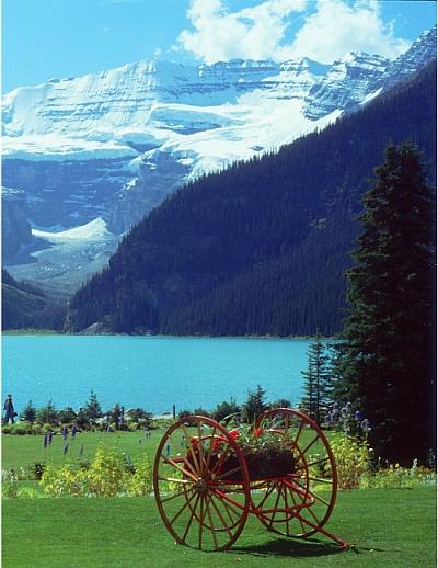 Banff,lake