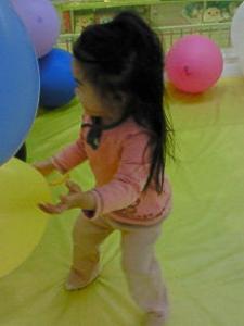 二歳児の体力