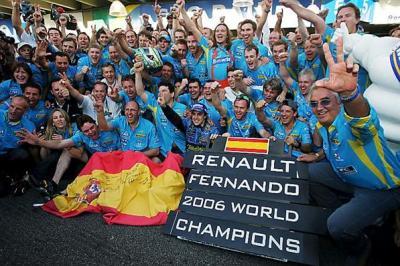 アロンソが2年連続チャンピオンに輝いた。