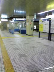新木場駅にて。。。