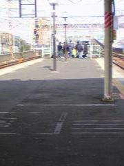 西浦和駅に集まる謎の方々…