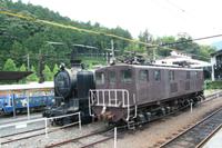 千頭駅に泊まる列車