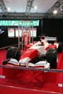 展示されてたF1車(トヨタ)