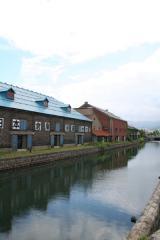 小樽運河。観光客大杉…。