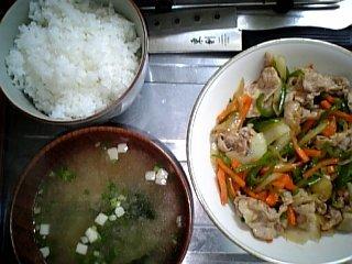 料理 4月22日 晩ご飯