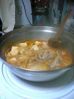 オリジナルキムチ鍋