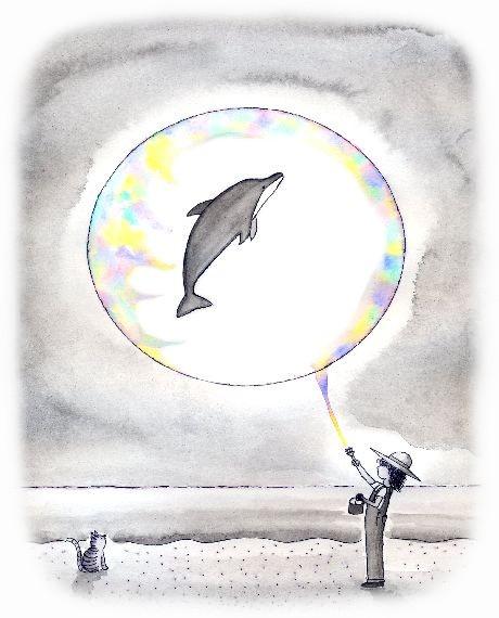 イルカの海