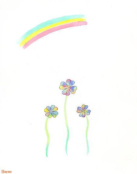 ブログ童話館アートメルヘン  虹色のクローバー