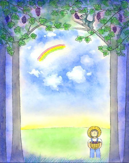 ブログ童話館アートメルヘン 山葡萄の詩