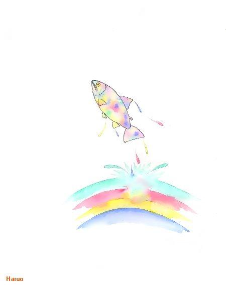 ブログ童話館アートメルヘン 虹色の魚