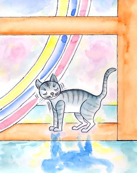 虹の工房・猫のペトロ ブログ童話館アートメルヘン