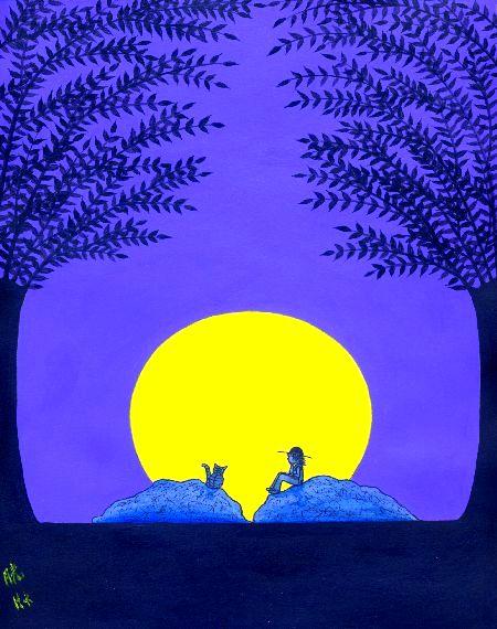 ブログ童話館アートメルヘン虹の工房・「月光」