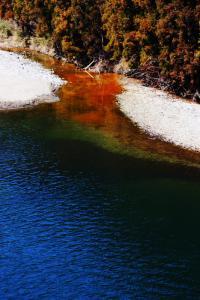 碓氷湖-巨大橋からの景色.