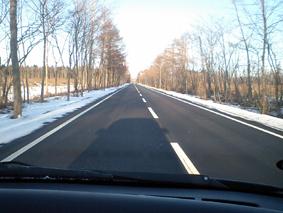 雪なし道路