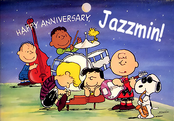 happy Anniversary Jazzmin