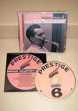 Jackie McLean Prestige Profiles