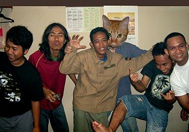 インドネシアの若者は明るい
