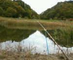 釣り竿風景